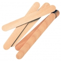 Wooden spatulas / sticks
