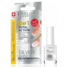 Eveline silver 8in1 nail therapy 12ml