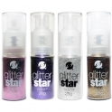 Glitter spray 4 färger 25g