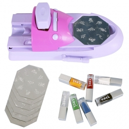 Nail stamping machine kit