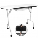Table ZP with dust collector for beauty salon