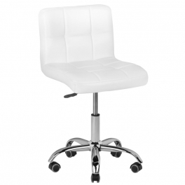 Working / customer stool white / black / braun / pink