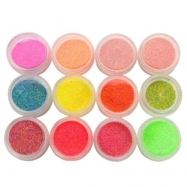 Neon sugar / sand 12 color kit