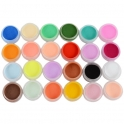 24 colors acrylic powder kit