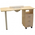 Manicure table Master I oak with dust collector