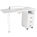 Manicure table Master I white with dust collector