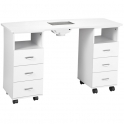 Manicure table Master II white with dust collector
