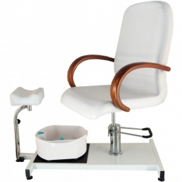 Pedicure chair SPA with legrest and foot bath