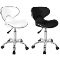 Working / customer stool white / black Q-4599