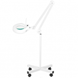 Magnifier / work lamp with tripod