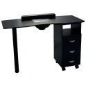 Table Master I black with dust collector