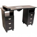 Table Master II black with dust collector