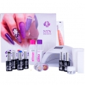 Gel polish NTN Premium PRO kit with 48W LED lamp