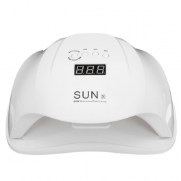 LED nail lamp SUN X 54W with timer and sensor