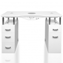 Table Afinia Basic white with dust extraction