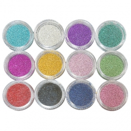 Caviar nail art kit 12 colors