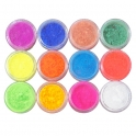 12 colors neon powder kit