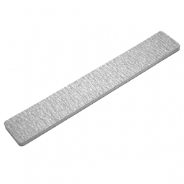Nail file wide white 1/5/10pcs