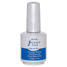 IBD Intense Seal 14ml UV topcoat utan klibbigt lager