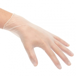 Disposable vinyl gloves L-XL
