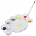 Palette for paints mixing
