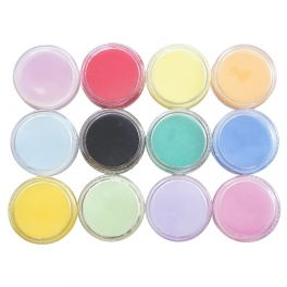 12 colors x 2g acrylic powder kit