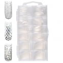 3D clear nail tips in box